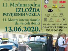 """11. """"Međunarodna izložba povijesnih vozila"""" UMAG"""